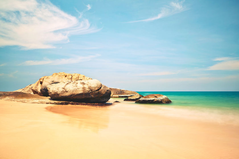 Beach with Rocks