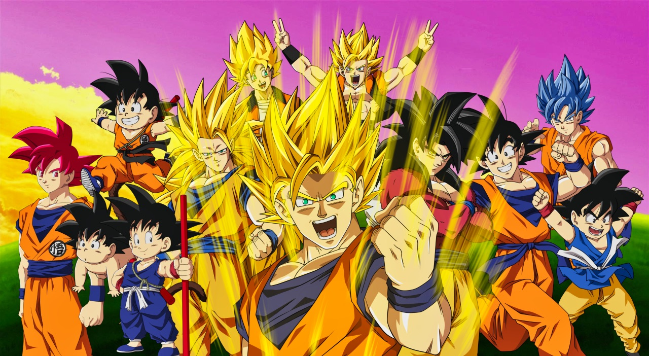 Dragon ball z characters