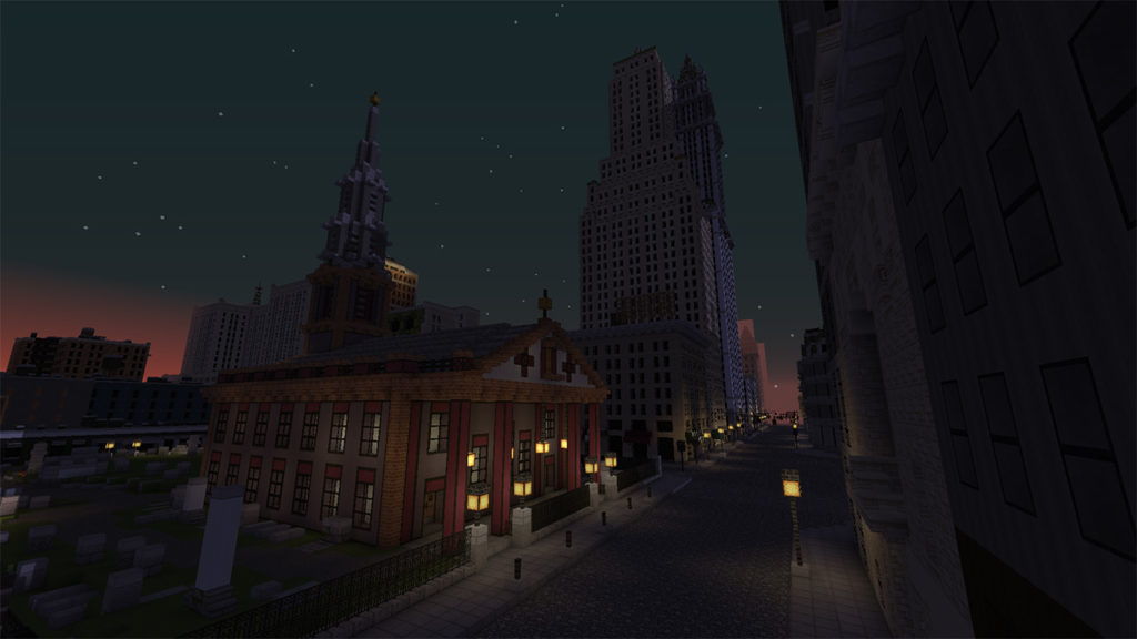 New York City in the 1940s - Minecraft